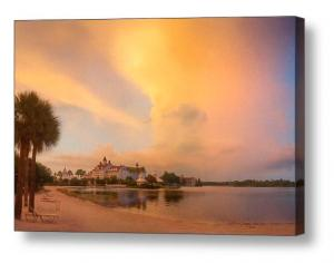 Artist Bill McEntee Turns Black Friday Into A Grand Floridian Sunset